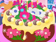 Play Flower Cake Decoration