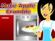 Make Apple Crumble Cake