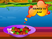Play Make chicken paprica game