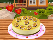 Play Love Cake cooking game