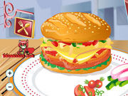 Play Yummy Hamburger decoration