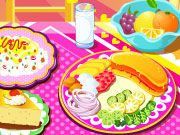 Play Perfect Breakfast Decoration