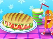 Play Delicious Hot Dog