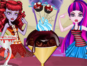 Play Monster High Delicious Ice Cream