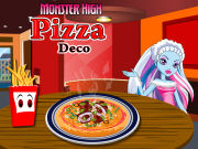 Play Monster High Pizza Deco