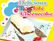 Play Delicious chocolate cheesecake