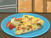 Play Red Pepper Frittata