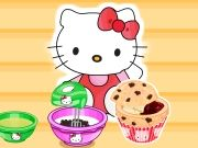 Play Hello Kitty's Choc Chip Jelly Muffins