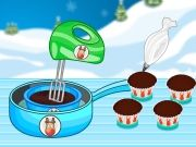 Play Rudolph Red Nose Cupcakes