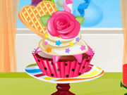 Play Newyear Cupcake Decoration