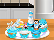 Play Bake Winter Cupcake
