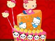 Play Yummy Hello Kitty Cake