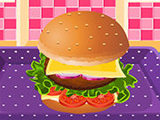 Play Burger Cooking Academy