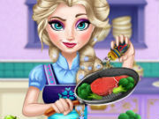 Play Elsa Real Cooking