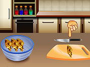 Play Cooking Chicken Sandwich