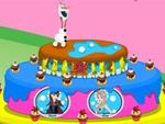 Play Frozen Olaf Birthday Cake