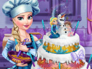 Play Elsa's Wedding Cake