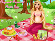 Play Pregnant Rapunzel Picnic Day