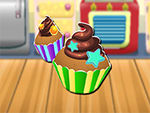 Play Cooking cupcakes