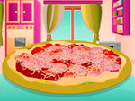 Play Make Salami Pizza