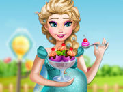Pregnant Elsa Ice Cream Cravings
