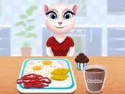 Play Talking Angela Cooking Breakfast