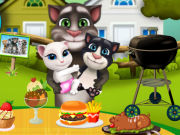 Play Tom Family Sunday Cooking