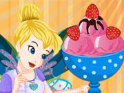 Play Tinkerbell Special Strawberry Ice Cream