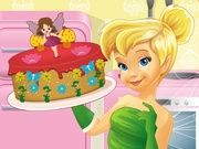 Play Tinkerbell Cooking Fairy Cake