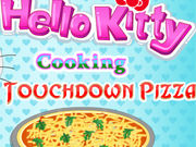 Play Hello Kitty Cooking Touchdown Pizza