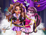 Play Draculaura Tailor for Clawdeen