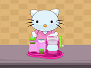 Play Hello Kitty Chef Ice Cream Maker
