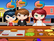 Play Chicken Burger Cart
