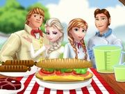 Play Frozen Family at the Picnic