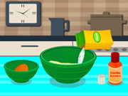 Play Delicious Rounded Cookies