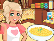 Play Mia Cooking Mac and Cheese