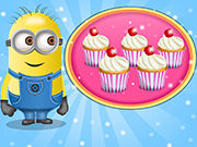 Play Cooking Trends Minions Choco Cupcakes