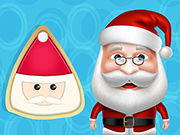 Play Santa Cooking Santa Sugar Cookie