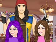 Play Descendants Hair Salon