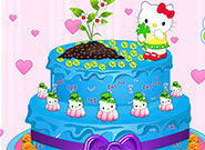 Play Hello Kitty Spring Cake