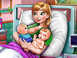 Play Anna Mommy Twins Birth