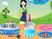 Play Mulan Cooking Chinese Pie