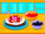 Play Cooking Strawberry Tart