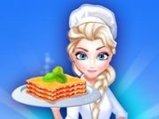 Play Elsa Restaurant Spinach Lasagna