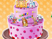 Play Palace Pets Birthday Cake