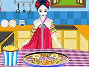 Play Cooking Korean Pizza