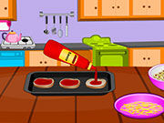 Play Cooking Mummy Pizza