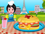 Play Cooking French Burgers