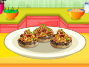 Play Safron Stuffed Mushrooms