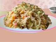 Play Spicy Peach Coleslaw